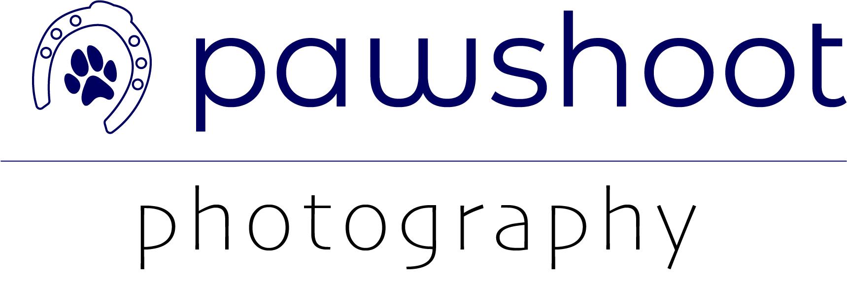 logo Pawshoot hondenfotografie